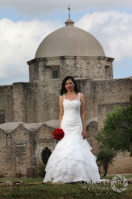 Bridal at San Jose Mission in San Antonio. What a GORGEOUS wedding ...