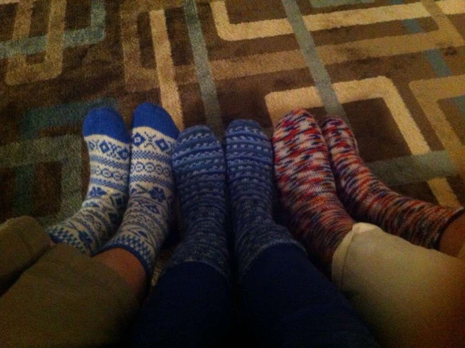 3 paar sokken op reis in de USA