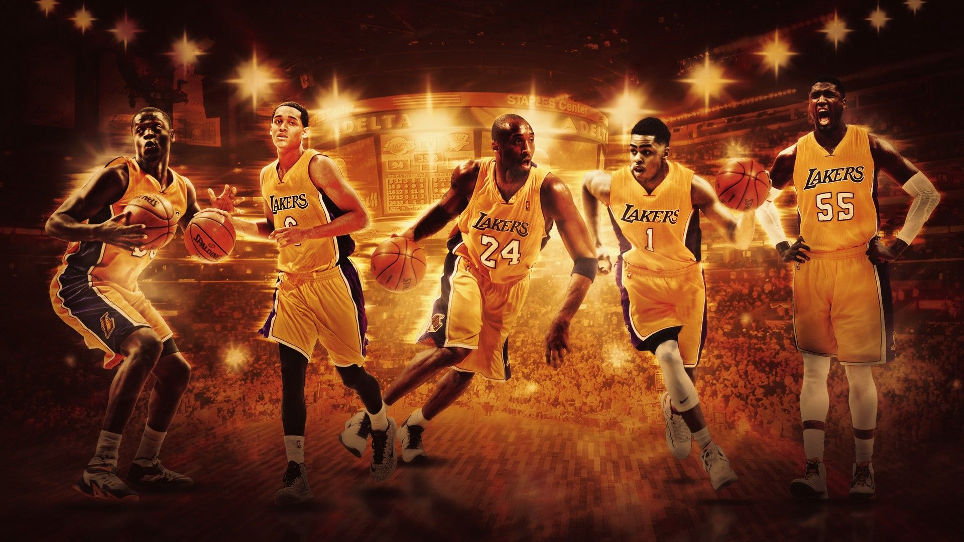 Hd Desktop Wallpaper La Lakers In 2020 La Lakers Basketball Wallpaper Lakers