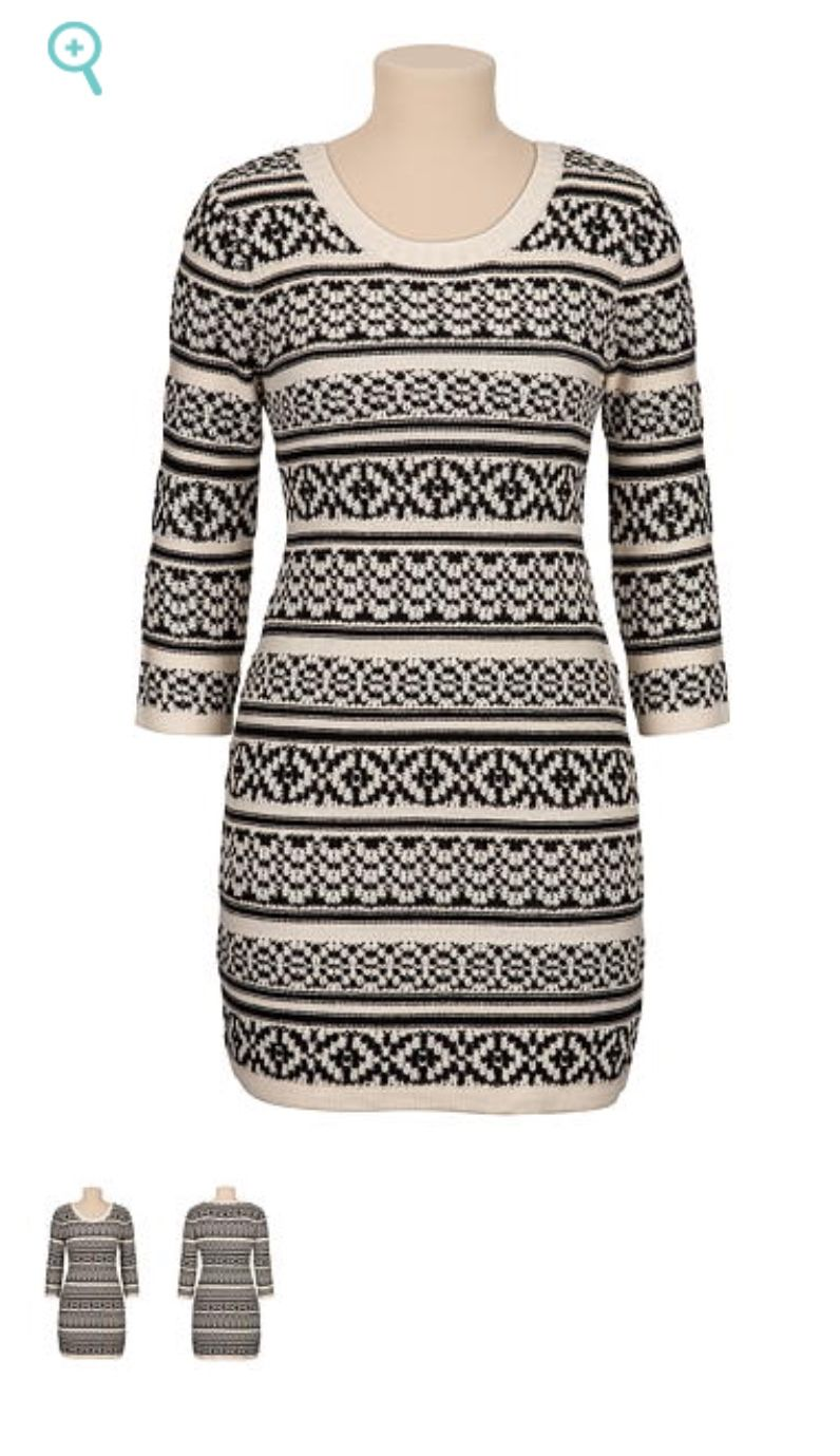 7210ea577f3 Adorable sweater dress! From Maurices