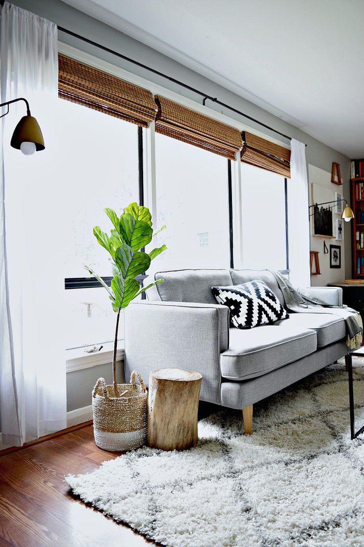 A Big Living Room Makeover on a SMALL Budget | interior design ...