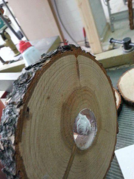 Como hacer una espectacular lampara con troncos lamparas - Como hacer una lampara de pie ...