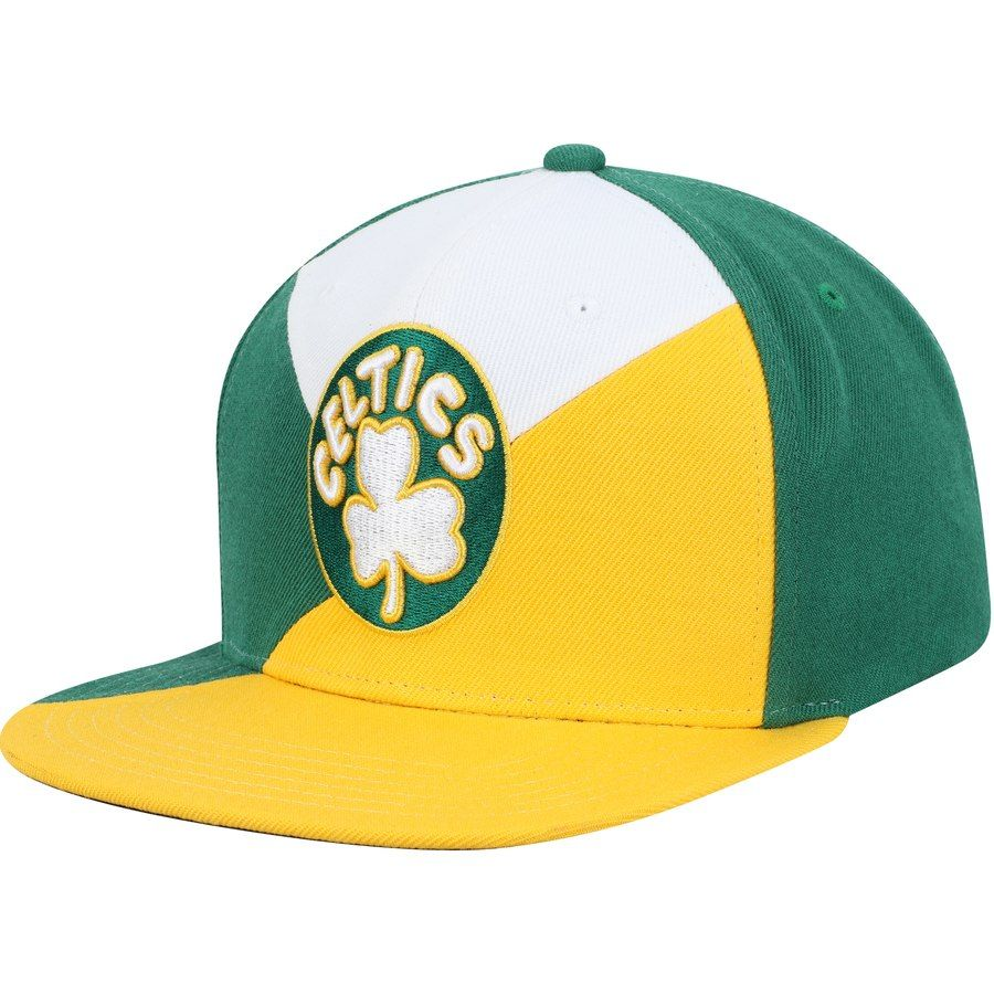 new style a4aba 418ec Men s Boston Celtics Mitchell   Ness Green Gold Quadriga Adjustable  Snapback Hat, Your Price   31.99