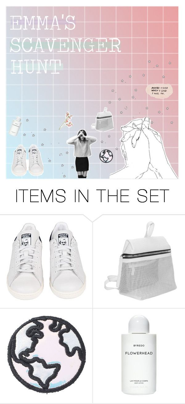 """emma's scavenger hunt collection cover"" by lost-planets ❤ liked on Polyvore featuring art"