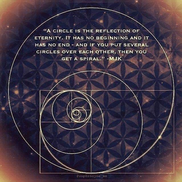 """Jain 108 Academy on Instagram: """"Circularized Phi Spiral Validates JainPi 3.144… Circle Harmonics  The Circularized Phi Spiral is important as it hints that the guts of the…"""""""