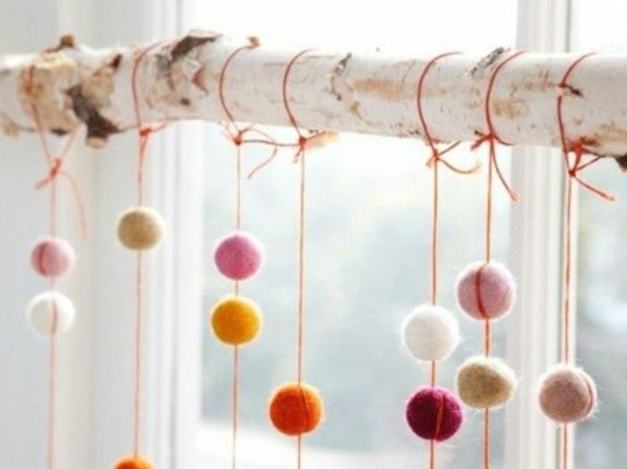 Wundersch ne vorschl ge f r winterdekoration birkenstamm pinterest dekoration weihnachten - Fensterdeko zweig ...