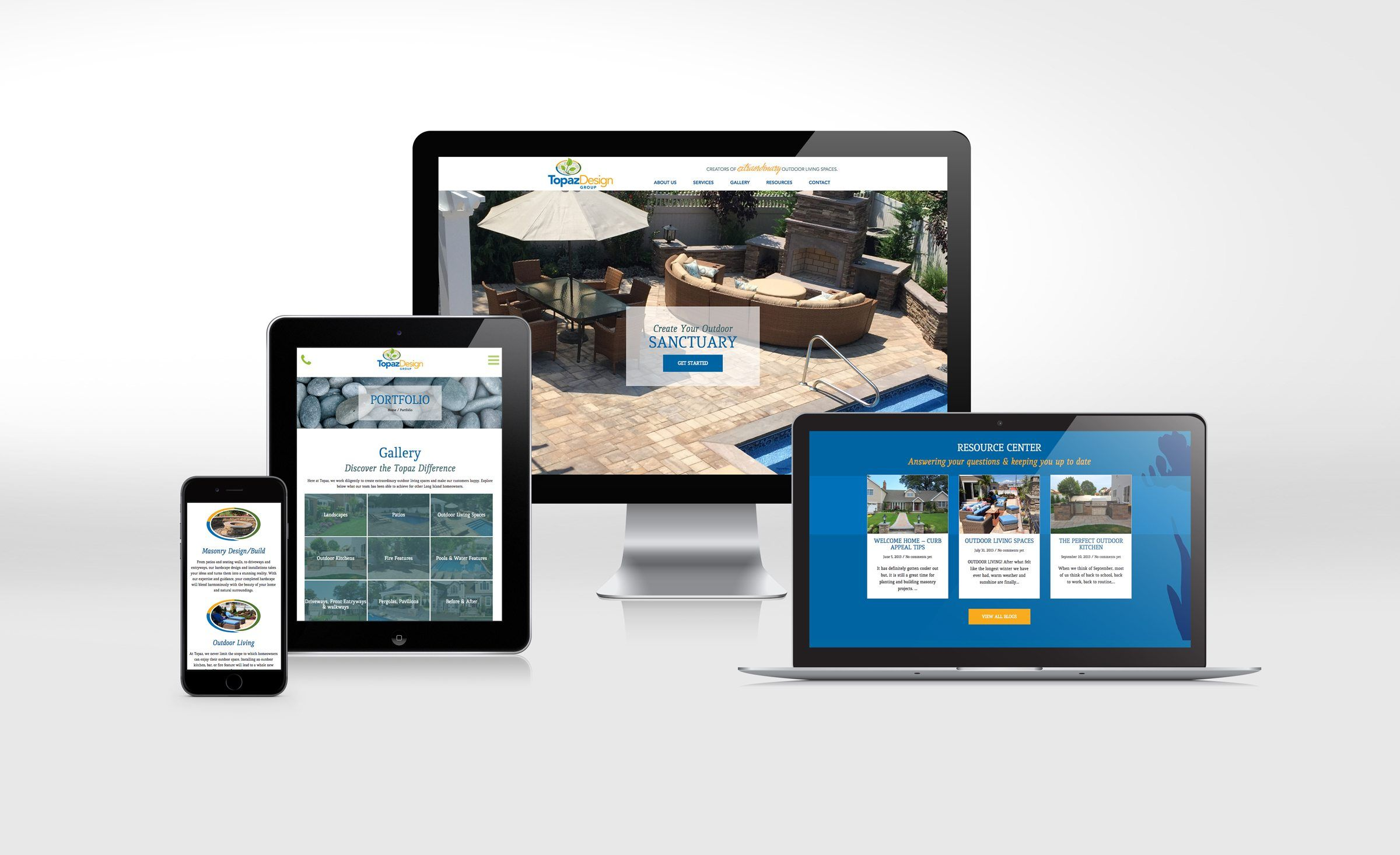 Website Design For Topaz Landscape Design Nj Advertising Agency Nj Ad Agency Nj Web Design Nj Logo Design Web Portfolio Web Design Brand Strategy Design