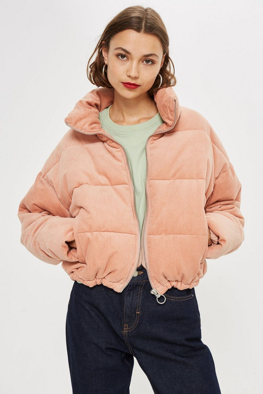 3d8cd45078b Corduroy Puffer Jacket - New In Fashion - New In in 2019   Style 9 ...