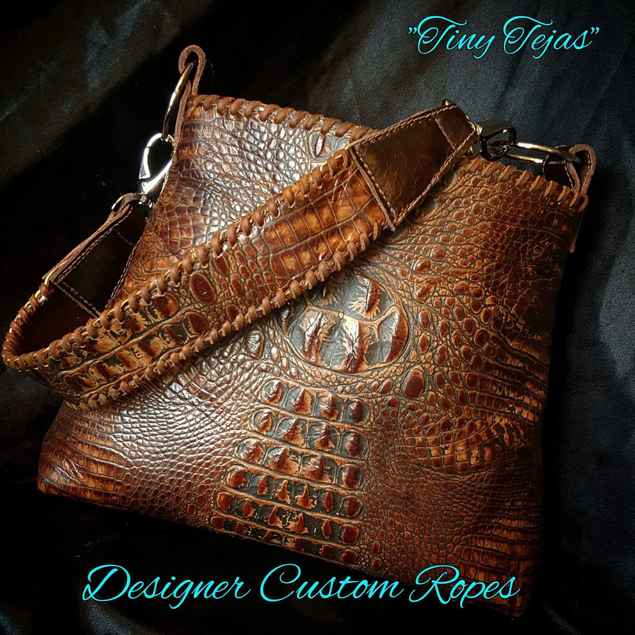 Bag by Designer Custom Ropes | Bags, Leather, Purses