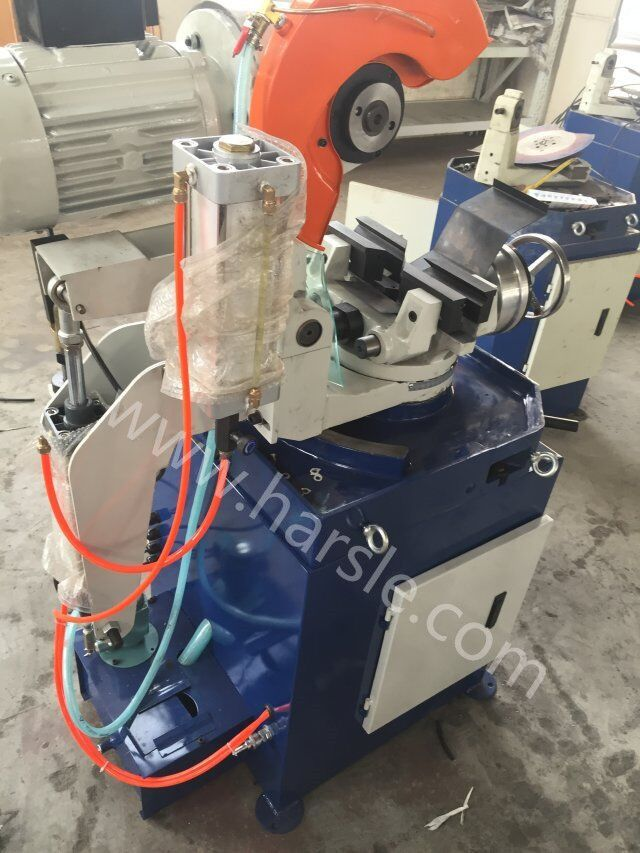 This is our pipe saw cutting machine. We have two type . One is AYJ-275 and the other is AYJ-315. It has two kins, one is manual and the other is pneumatic. It can cut round pipe and square tube and the other  If you have the interest, please contact me. My mail :ivy@harsle.com  My skype :ivyzhang1991826  My whatsapp:+86-15251795483 (also my Wechat number) Our website :www.harsle.com