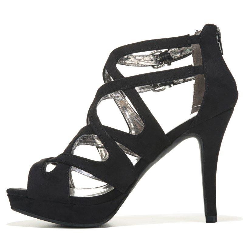 Report Womens Laleh Dress Sandals Black
