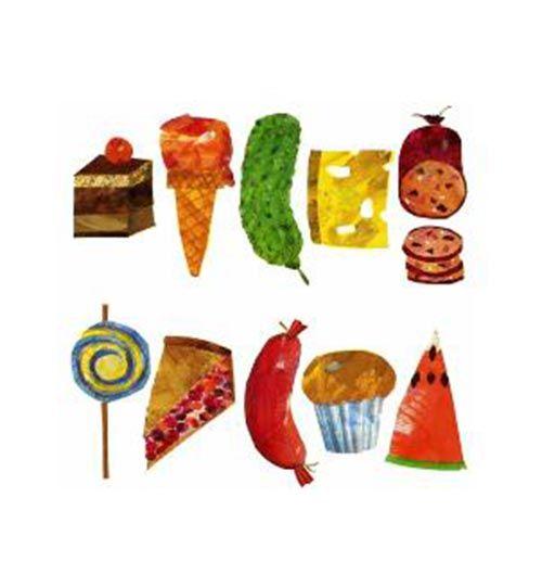 Very Hungry Caterpillar Free Printables | Food cards, Caterpillar ...