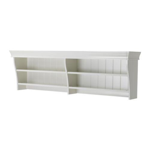 Liatorp Wall Bridging Shelf White 59 7 8x18 1 2 Liatorp