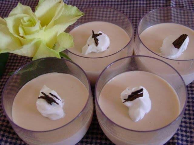 Roasted Green Tea Pudding