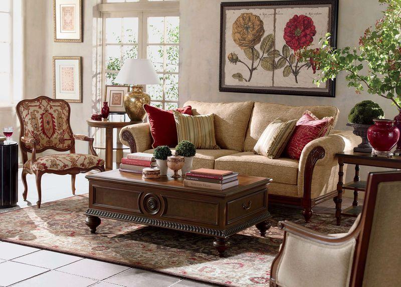 Pratt Sofa Ethan Allen · Living Room ...