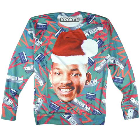 Ugly Christmas Sweater - Fresh Prince | krakenclothingco | Mens ...