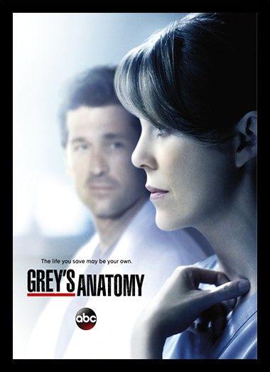 Quadro Poster Series Greys Anatomy 7 Grays Anatomy Poster Series