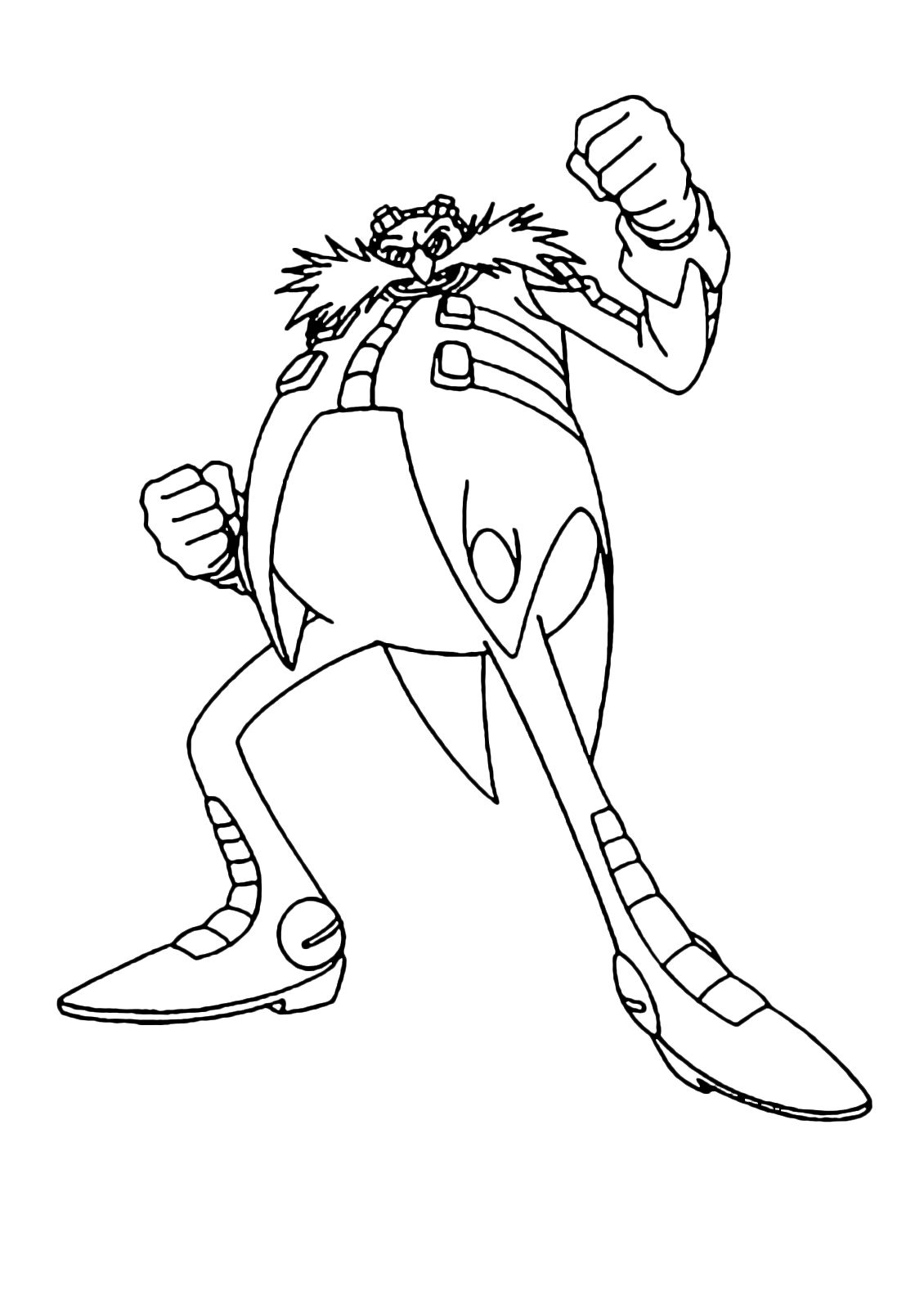 Sonic Eggman Coloring Pages Coloring Pages Allow Kids To Accompany Their Favorite Characters On An Adventure Our F Coloring Pages Free Coloring Pages Color