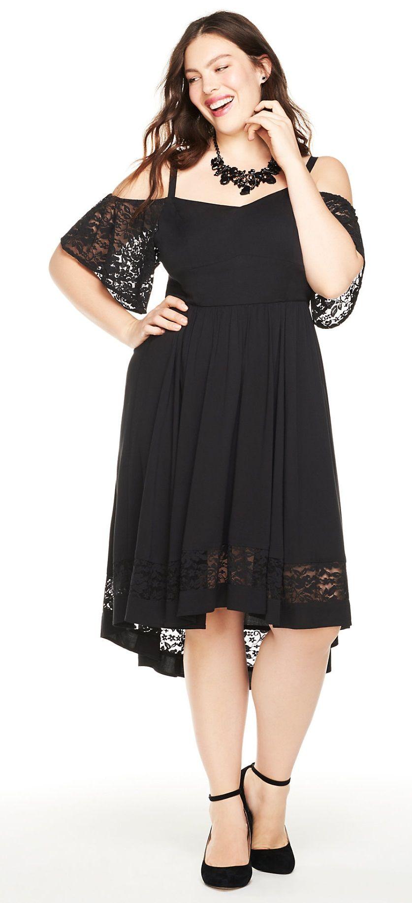6ed425087 Plus Size Hi-Lo Dress