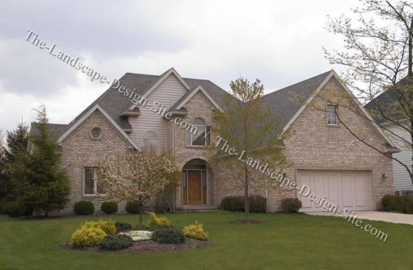 Landscape Idea Deck Landscaping House Styles Home