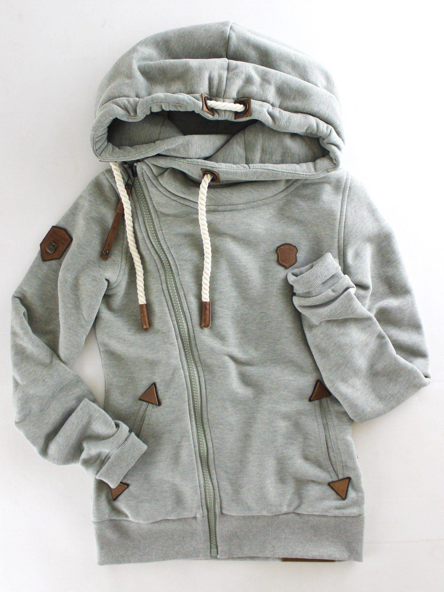 Naketano Family Biz VIII Asymmetrical Zip Hoodie | Zip