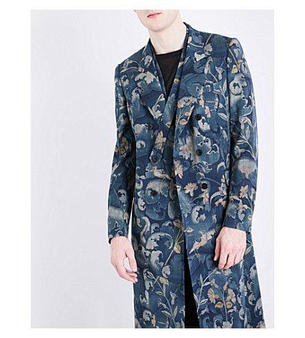 4fad0d467df DRIES VAN NOTEN - Royce tapestry-print wool-blend coat