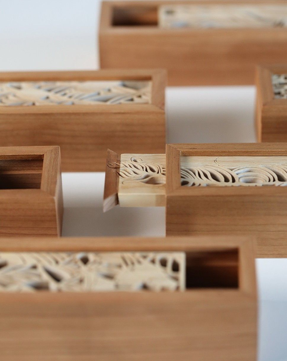 Boxes detail woodwork pinterest box and woods