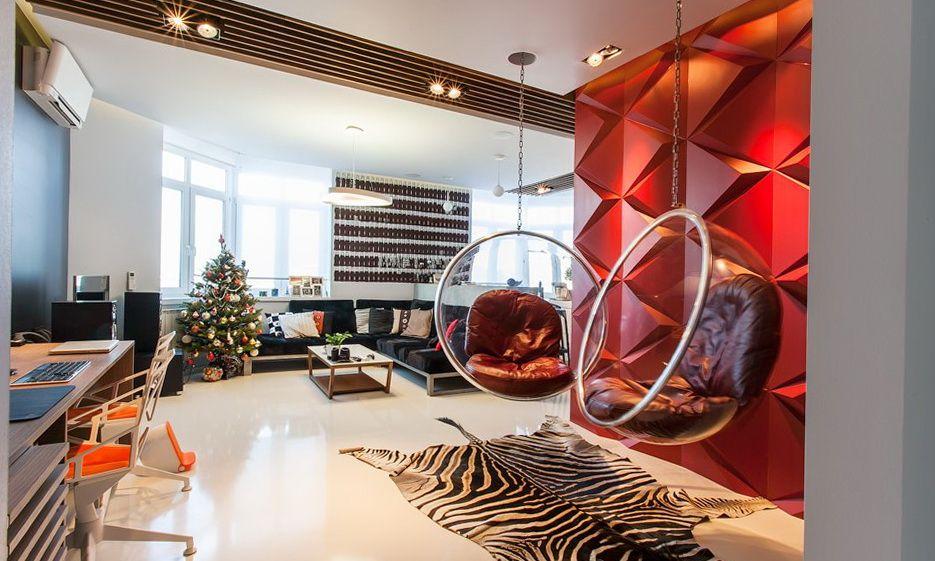 Pop+Art+Interior+Design | Pop Art Apartment in Style of 1960s: