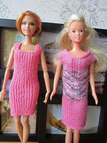 Ravelry: nesija's #1133 Dress with Stripes   Barbie ...