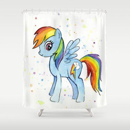 Rainbow Dash Watercolor