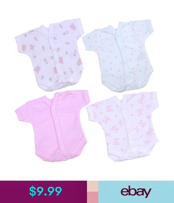 $9.99 - Babyprem Preemie Tiny Girls Baby Clothes One-Piece Bodysuit Vest For Nicu Scbu #ebay #Fashion