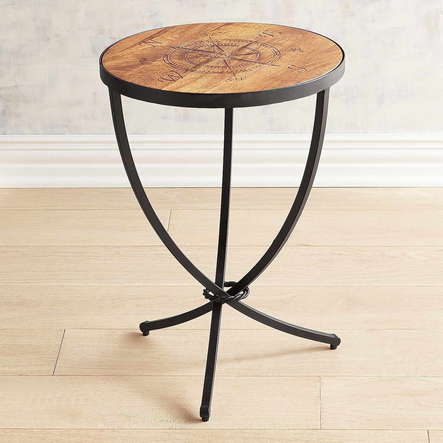 Compass Accent Table Leather Living Room Furniture Ashley Furniture Sale Diy Living Room Decor