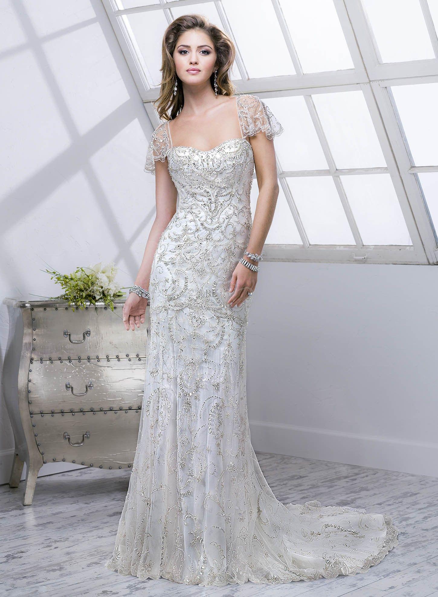 sottero midgley lola Gatsby wedding dress, Art deco