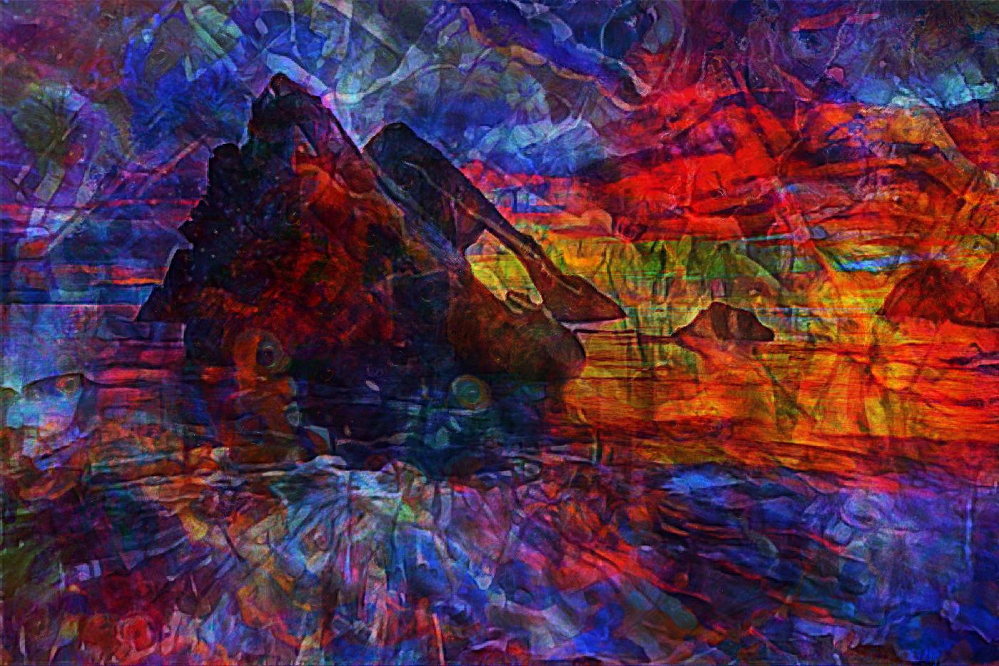 Bow Fiddle Rock Composition