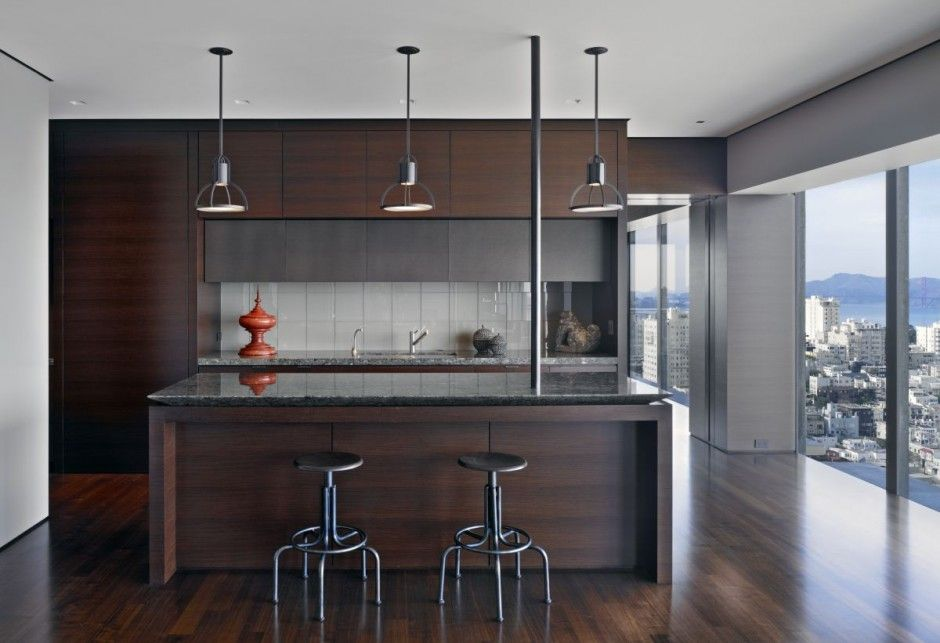 Contemporary Style Kitchen Dining For Apartment With Wood Flooring Glamorous Contemporary Style Kitchen Cabinets Review