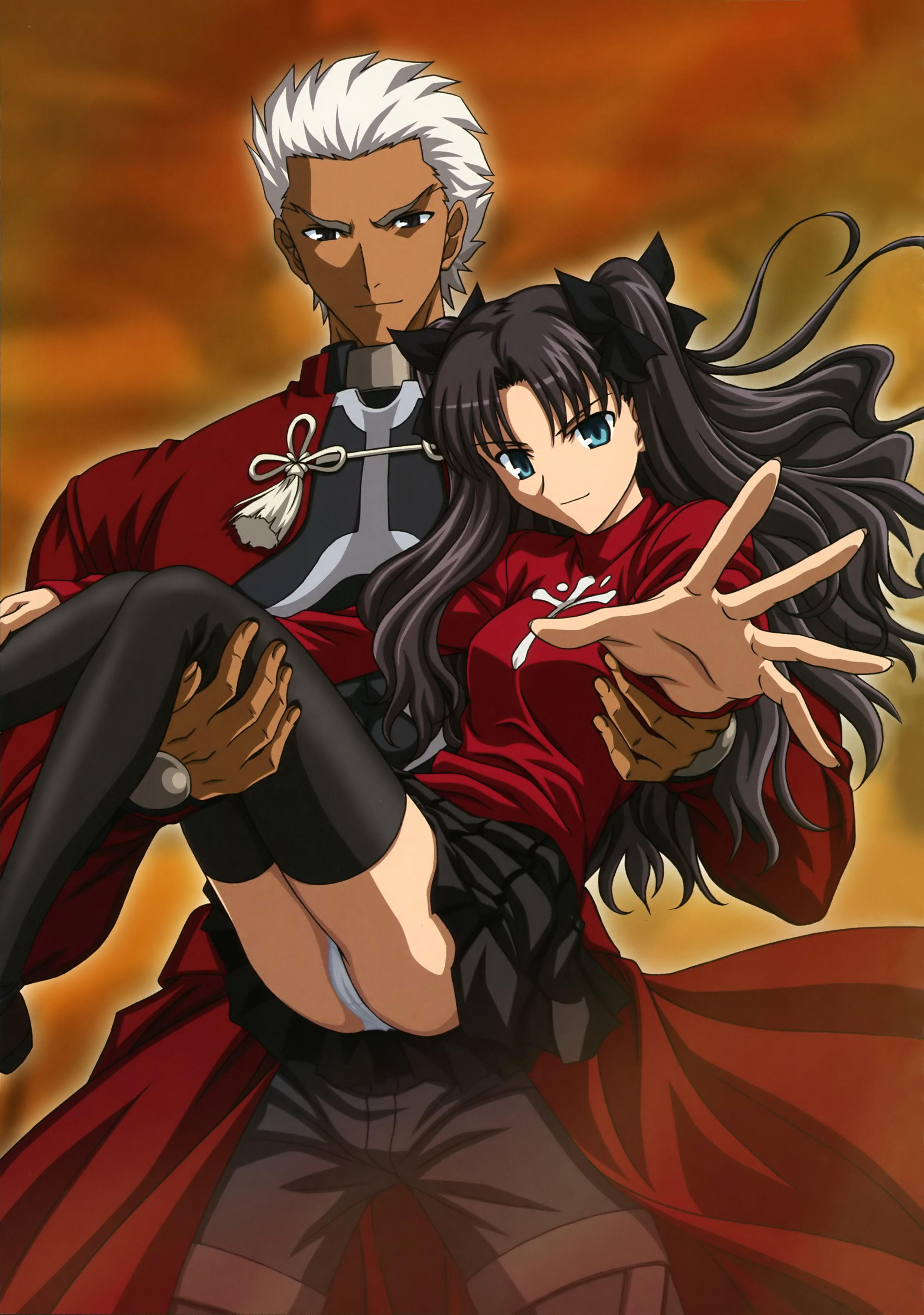 Archer & Rin - Fate/Stay Night | Fate Stay Night | Fate ...