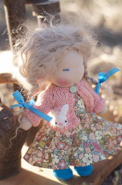 Storybook Doll Alice by Tumbleberry Toys