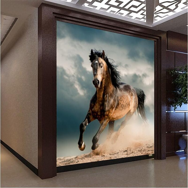 beibehang photo wall paper perspective office backdrop painting murals  horse mural wallpaper for walls 3 d. beibehang photo wall paper perspective office backdrop painting