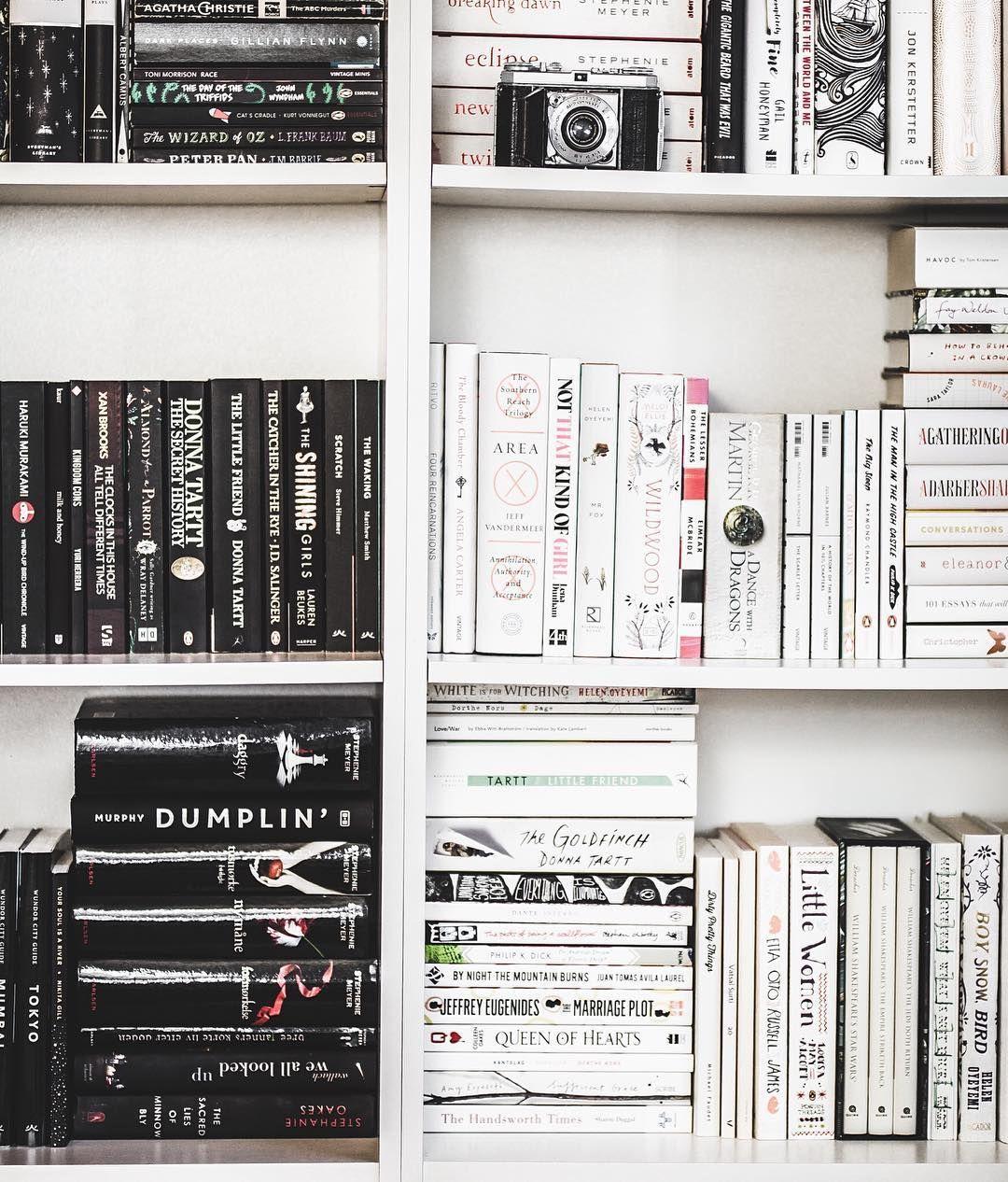 Pinterest Urfatherfigure Black And White Books Book Flatlay Bookshelf Organization