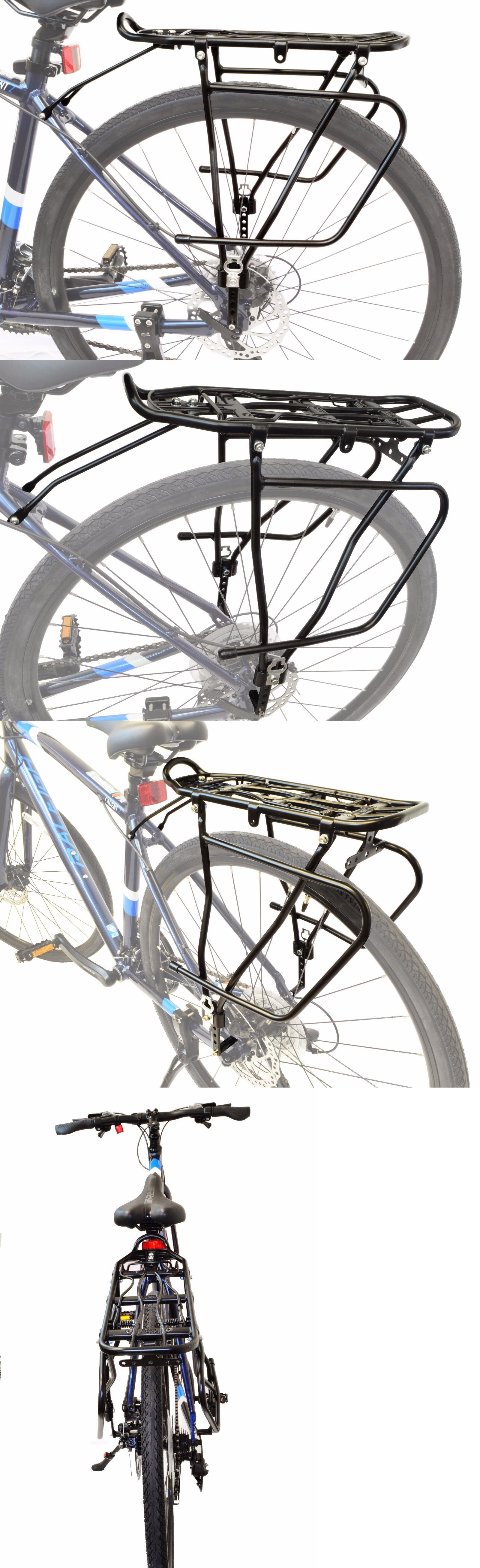 Carrier And Pannier Racks 177836 Lumintrail Adjustable Bicycle Rear Frame