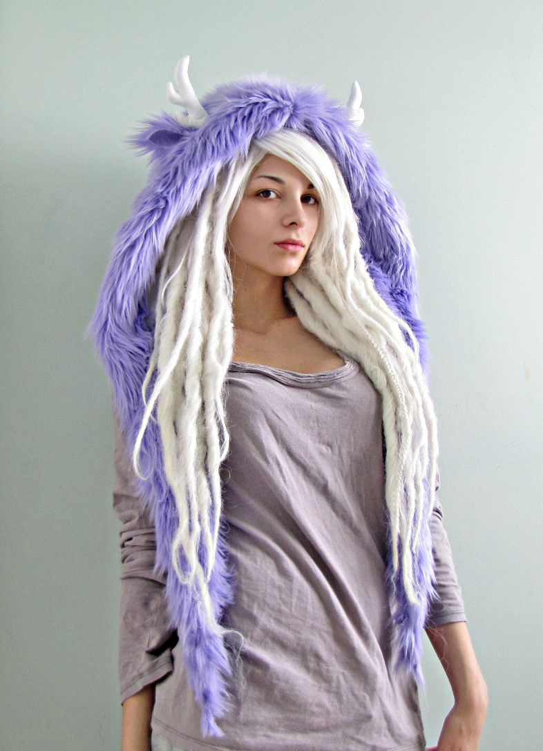Love the white dreads