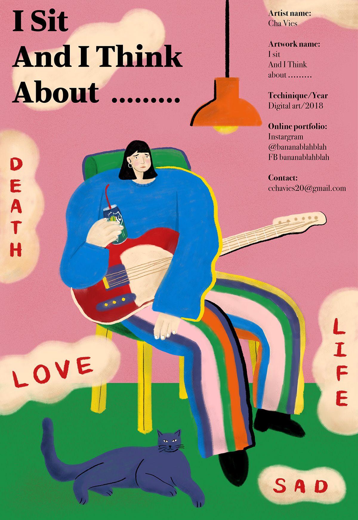 A Day The Jam Mag On Behance Graphic Design Art Artist Names Online Portfolio