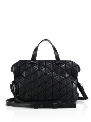 e902ec9b4f07 BAO BAO ISSEY MIYAKE Tonneau Small Matte Boston Bag.  baobaoisseymiyake   bags  shoulder bags  hand bags  polyester  crossbody