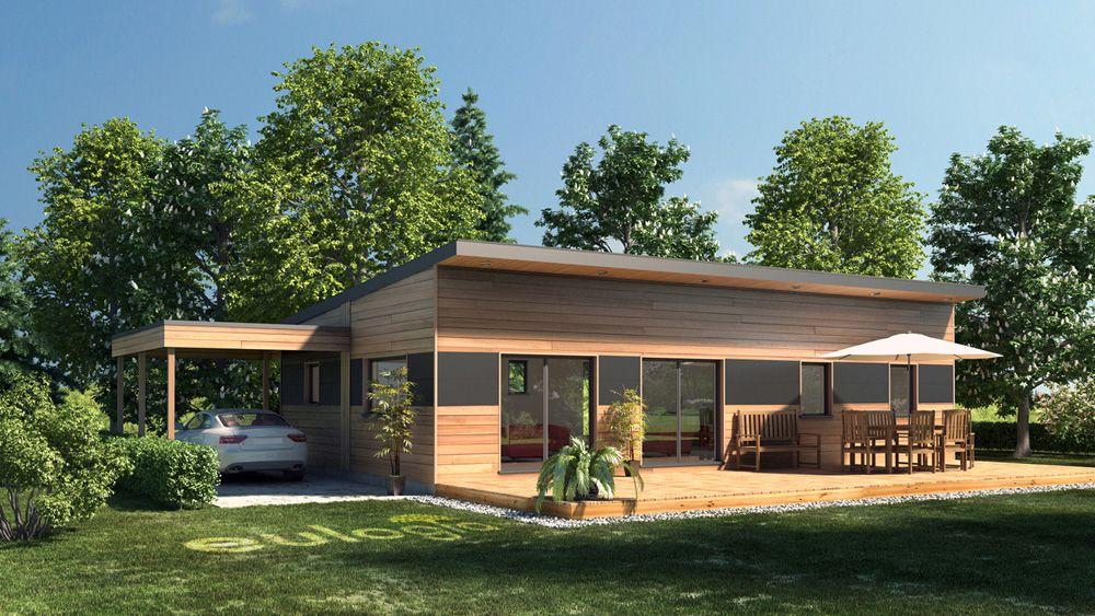 Architecture extérieur 3d maison bois maison pinterest maison bois 3d et architecture