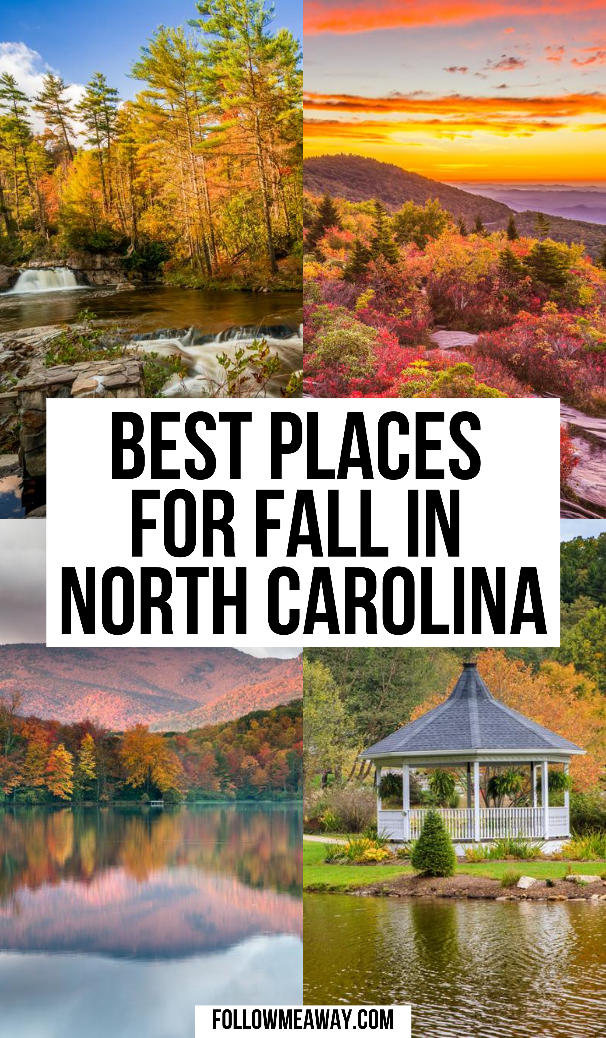 10 Best Places To Experience Fall In North Carolina Follow Me Away In 2020 Cool Places To Visit North Carolina Vacations North Carolina Travel