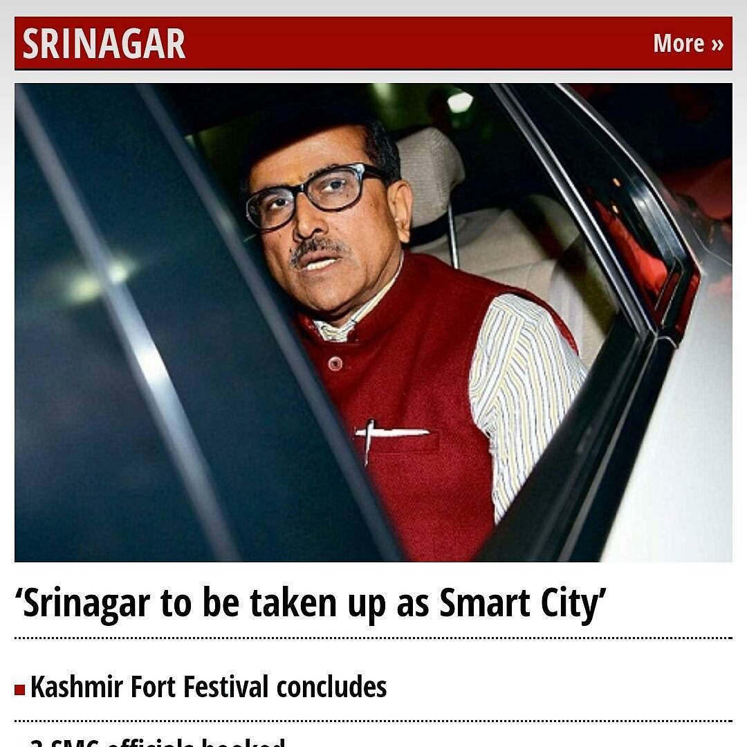 Joke of the year. SmartCity IoT Srinagar Kashmir