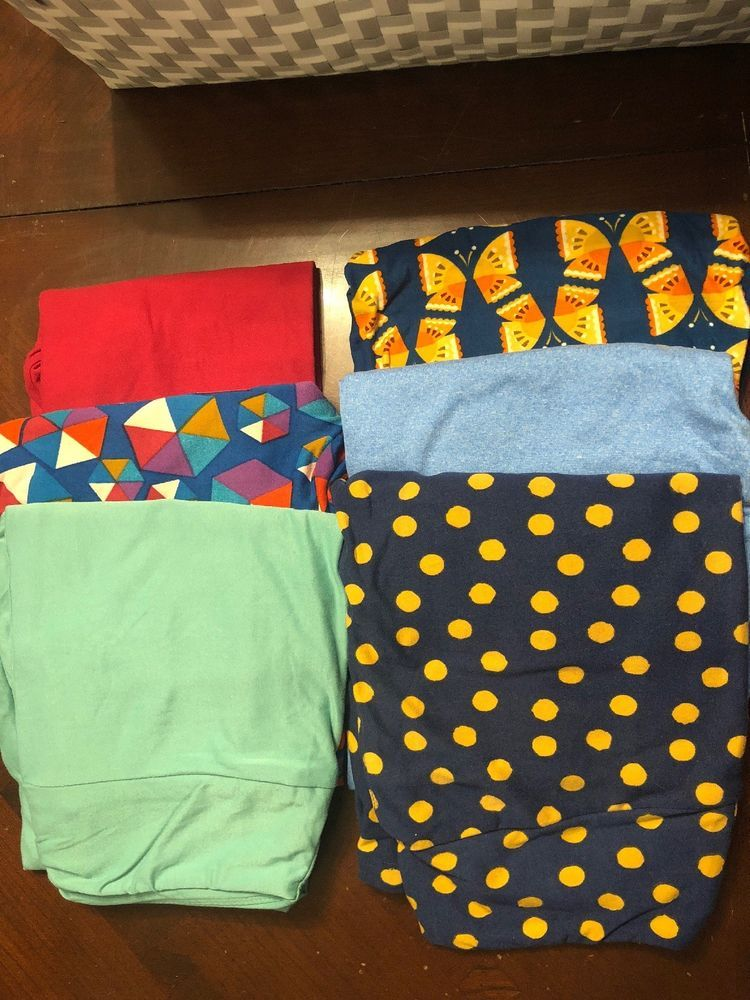 600ed688ea8f88 Lularoe Os Leggings Lot Of 6 Leggings Women's Clothing