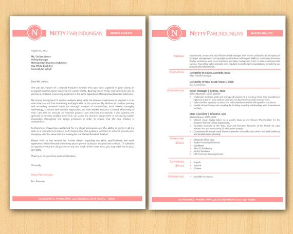 rose elegant circle microsoft word resume 1 u00262 p and by