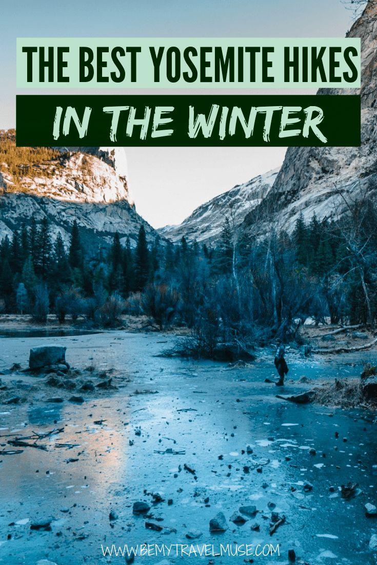 Photo of The Best Yosemite Winter Hikes