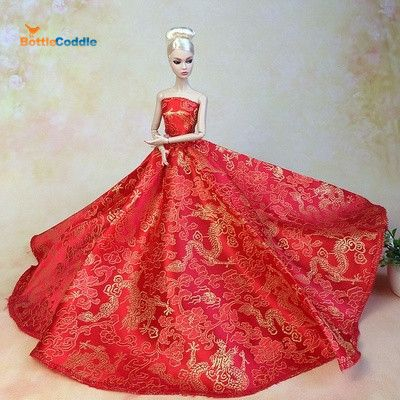 Barbie best friend fashion gowns and dresses